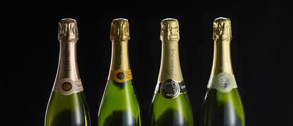 Champagne y cava