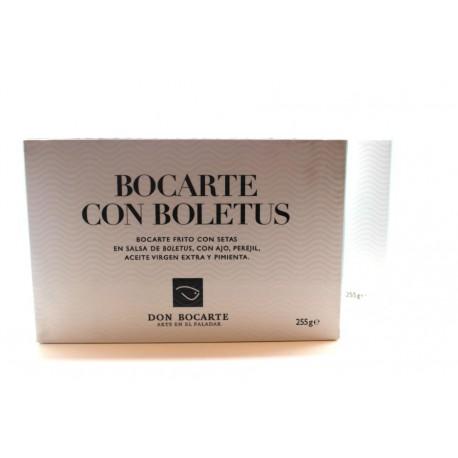 Bocarte con boletus Don Bocarte