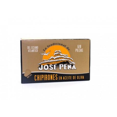 Chipirones en aceite de oliva Jose Peña