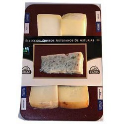 Tabla de Quesos Asturianos 275 g. Coasa