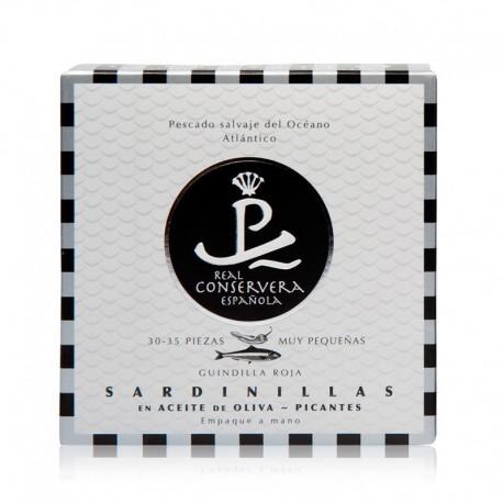 Sardinillas en aceite de oliva picantes Real Conservera Española