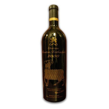 Vino tinto Château Mouton Rothschild 2000