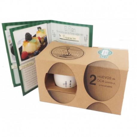 Huevos de Oca del Duratón ( pack 2 unidades )