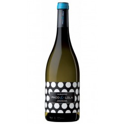 Vino blanco Albariño Paco & Lola