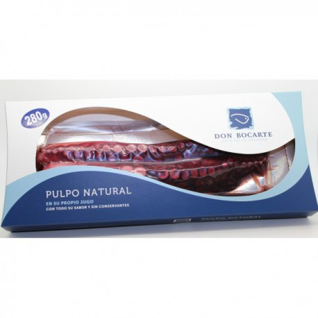 Pulpo Natural Don Bocarte