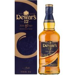 Whisky Dewar`s 12 Años 50 cl