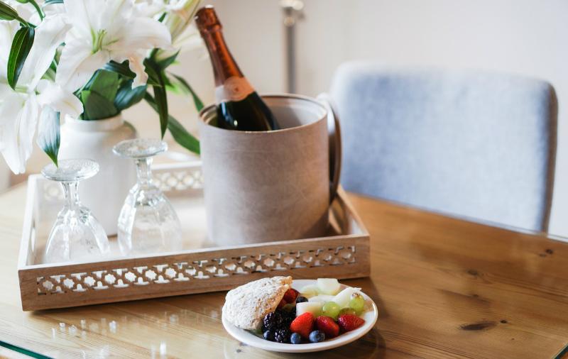 San Valentín y Champagne